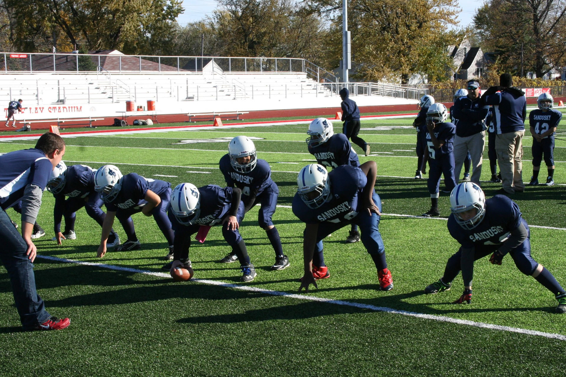Photo of Elementary Football game