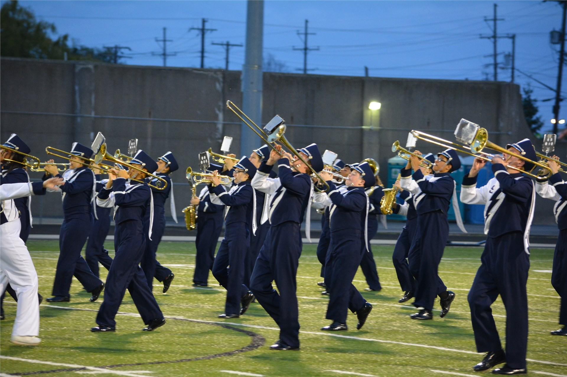 Sandusky Blue Streak Marching Band