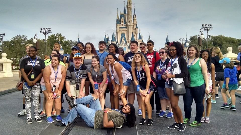 Choir Students at Magic Kingdom