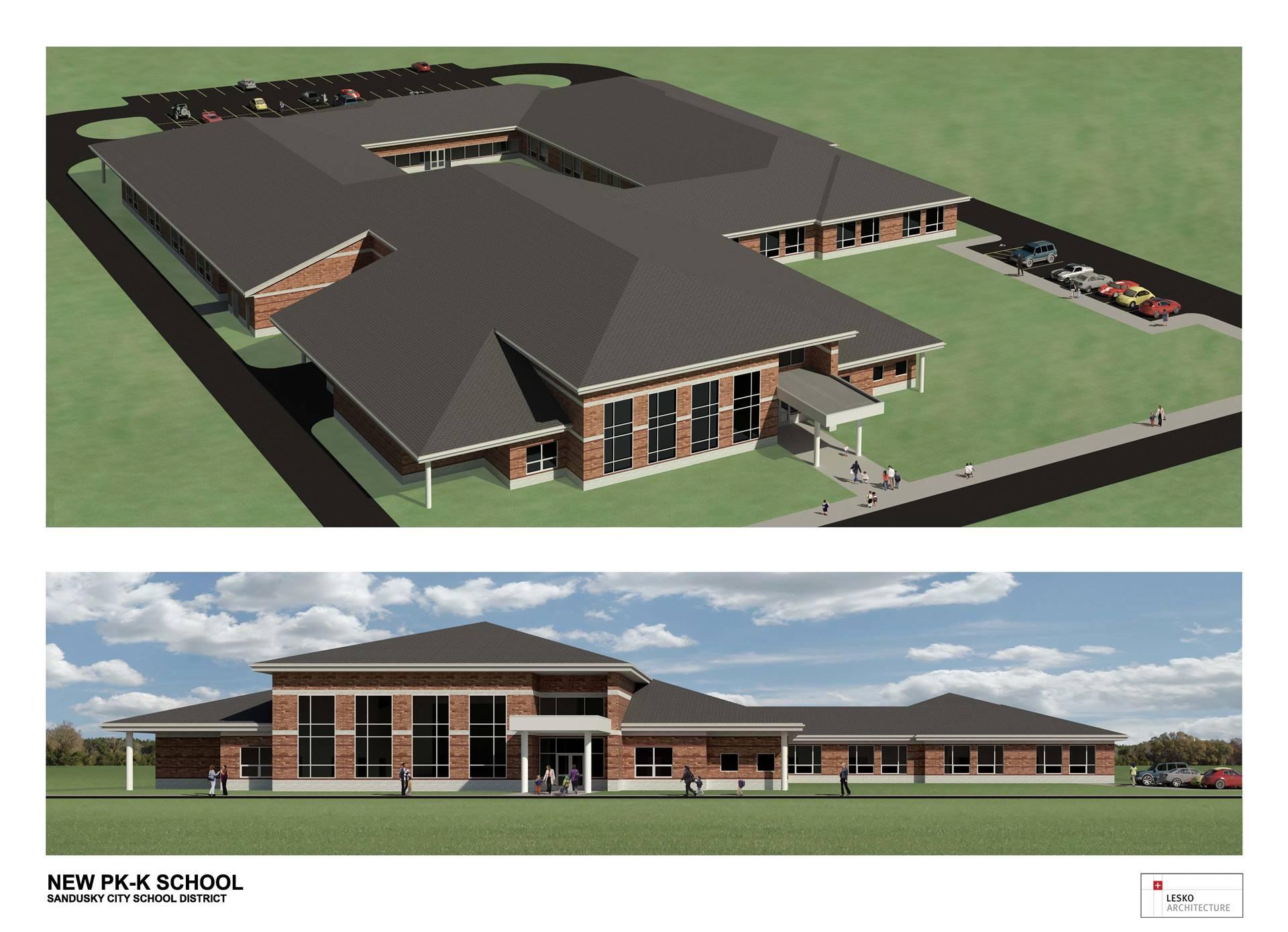 New Preschool - Kindergarten Building on the Hancock Elementary Site