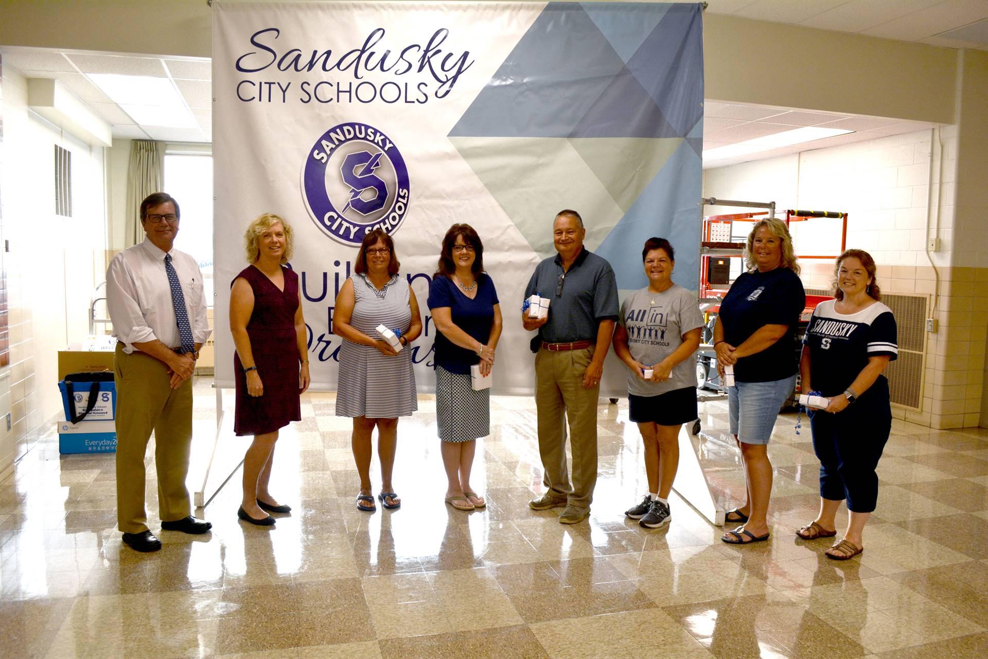 Staff 25 Year Work Anniversaries