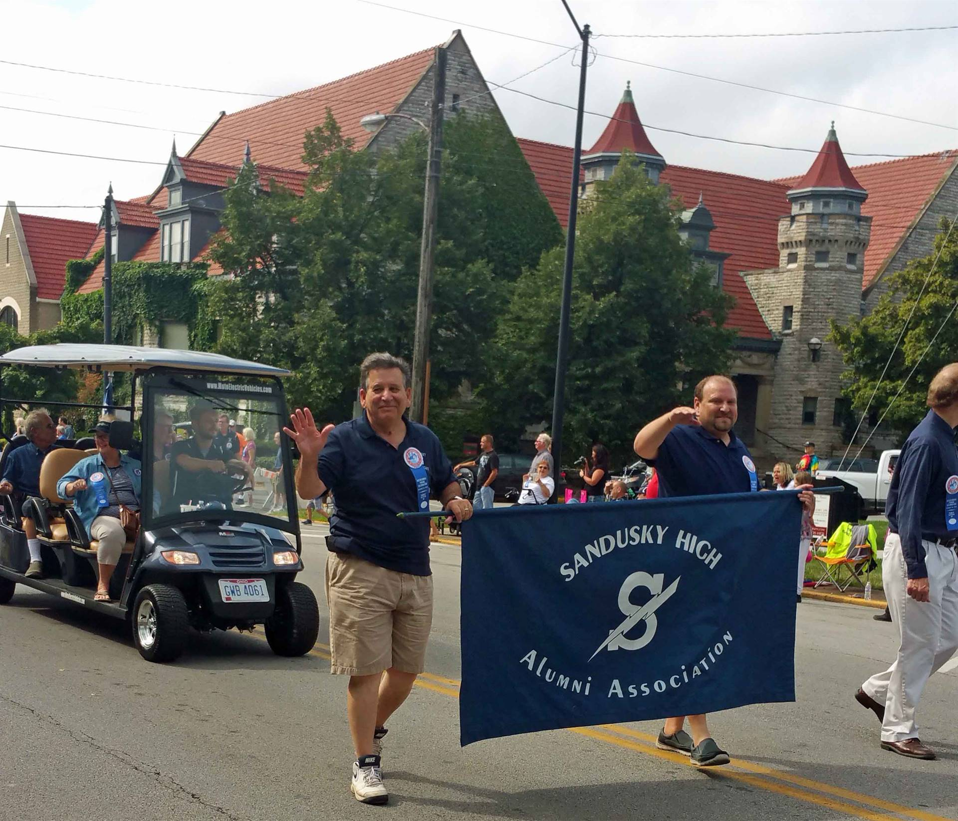 SHS Alumni Association Officers - Bicentennial Parade 2018