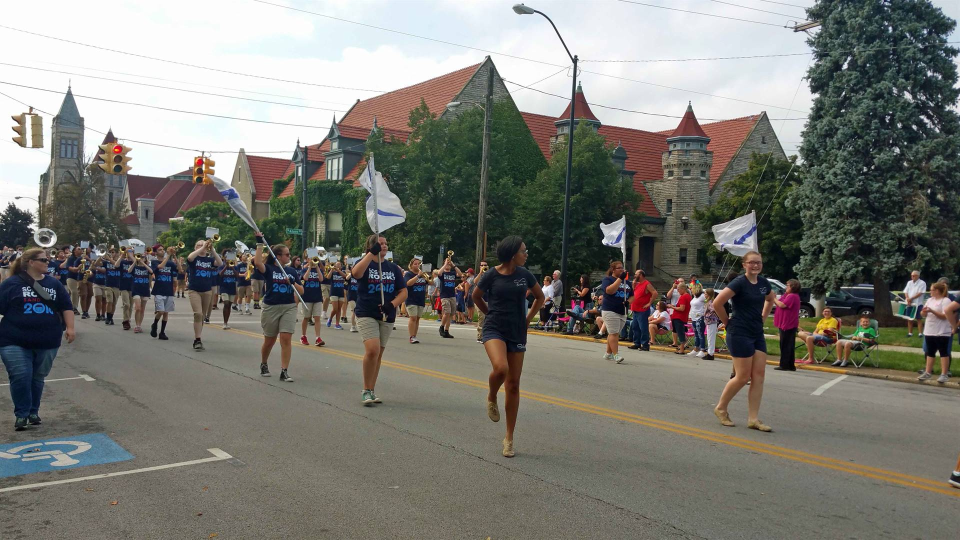 SHS Band  - Bicentennial Parade 2018