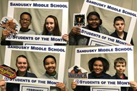 February SMS Students of the Month