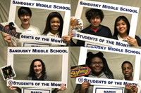 March SMS Students of the Month