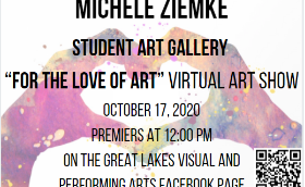 """For the Love of Art"" Virtual Art Show"