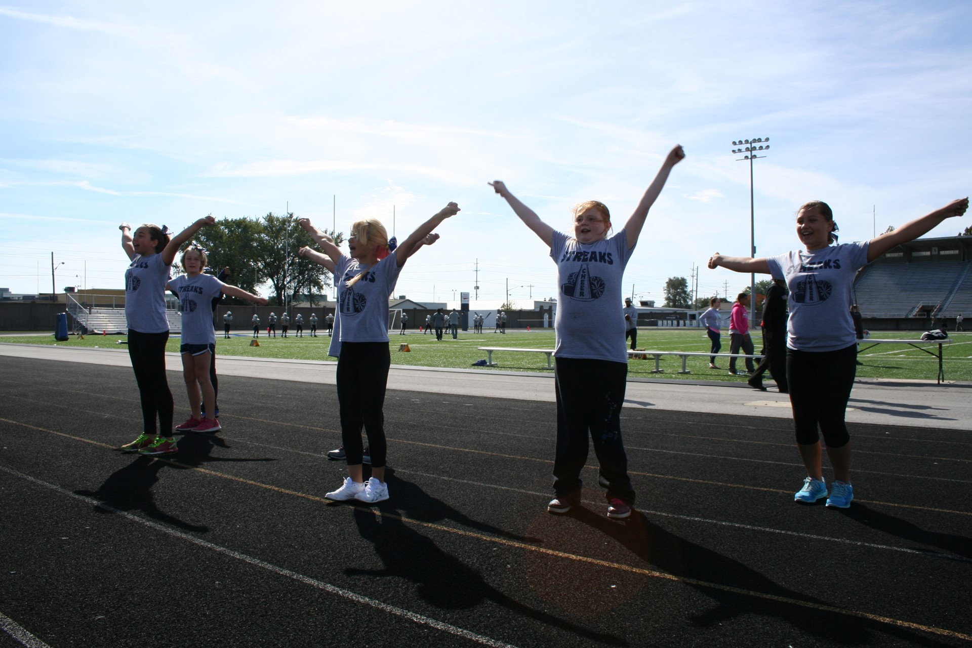 Photo of Elementary Cheerleaders