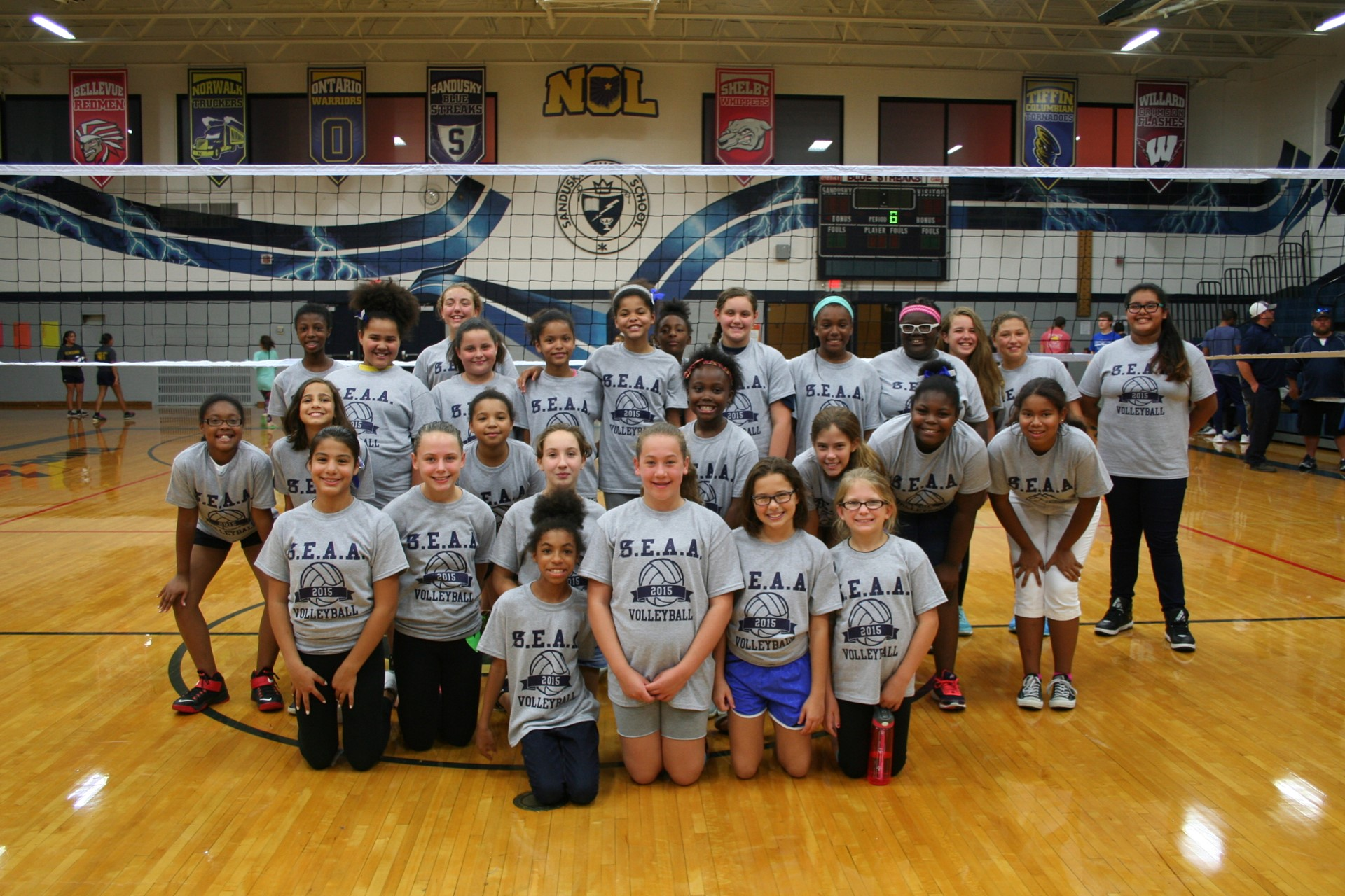 Photo of Elementary Volleyball