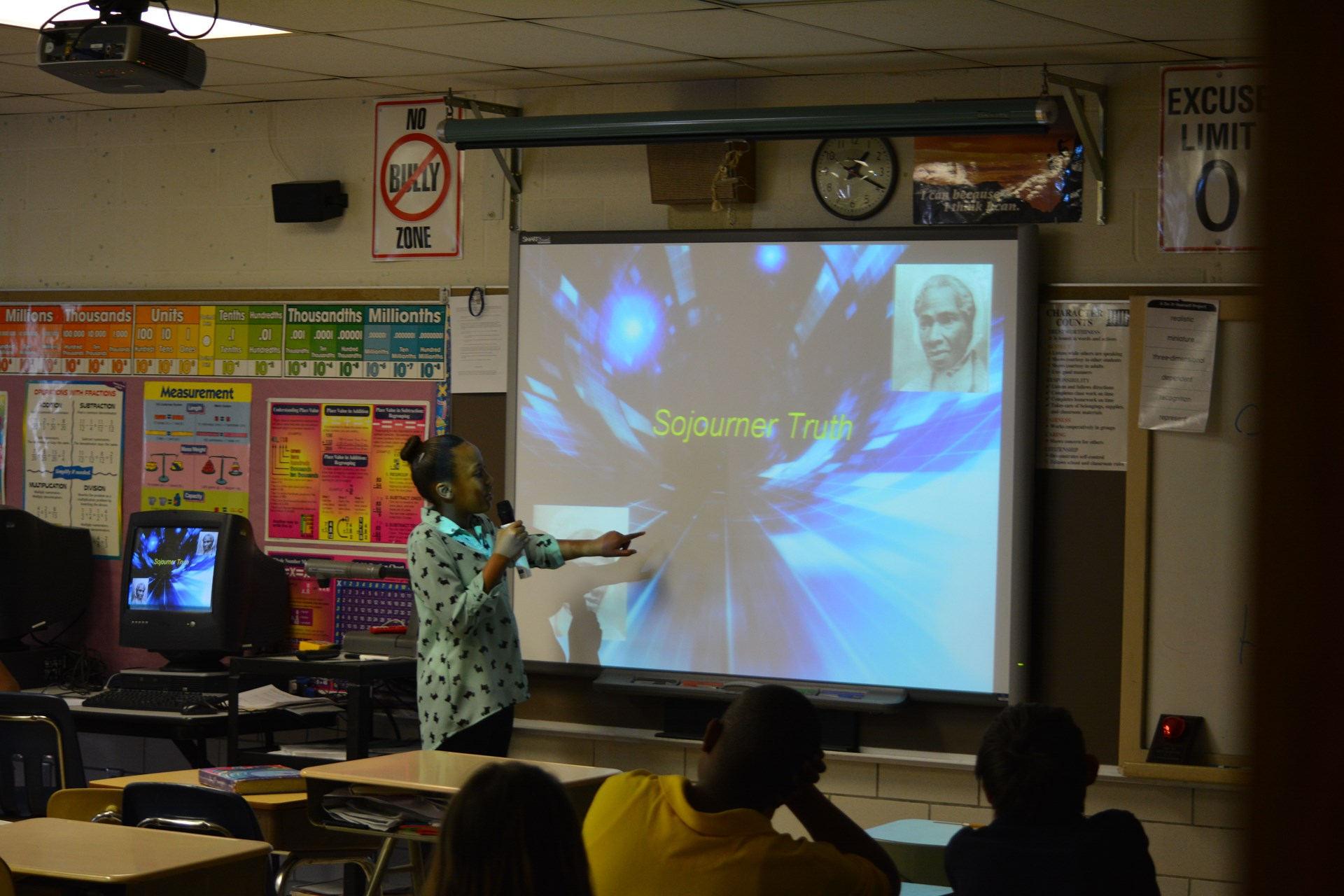 Student Presentation on SMART Board