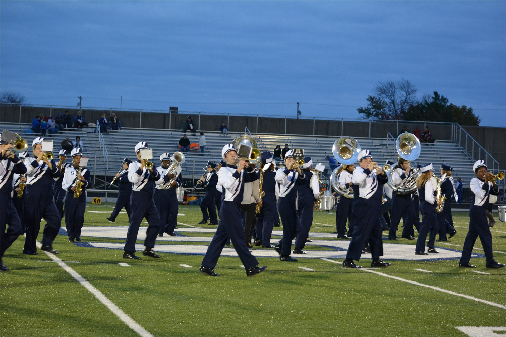 Sandusky Blue Streak Marching Band