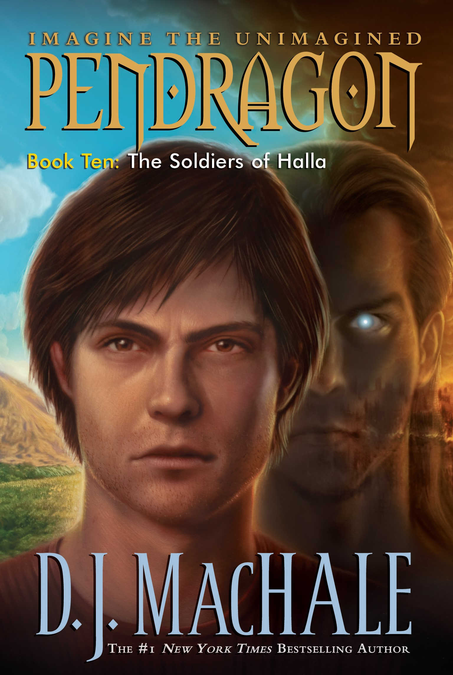 "Book Cover: ""Pendragon"" by D.J. MacHale"