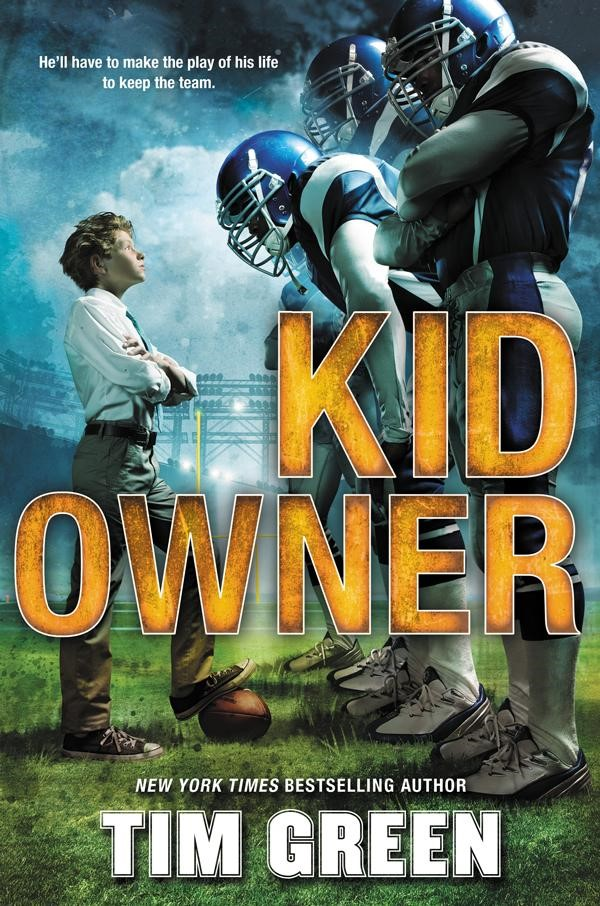 "Book Cover: ""Kid Owner"" by Tim Green"