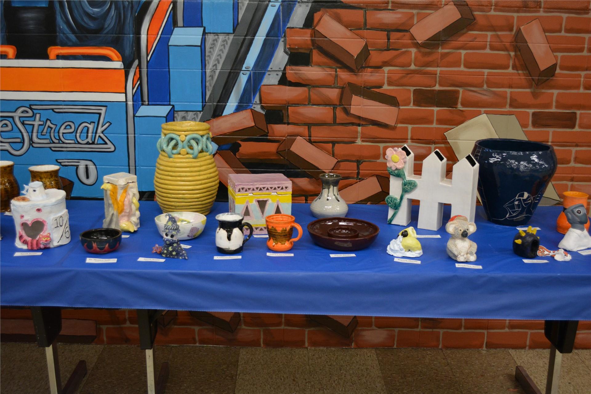 Photo of ceramic pieces