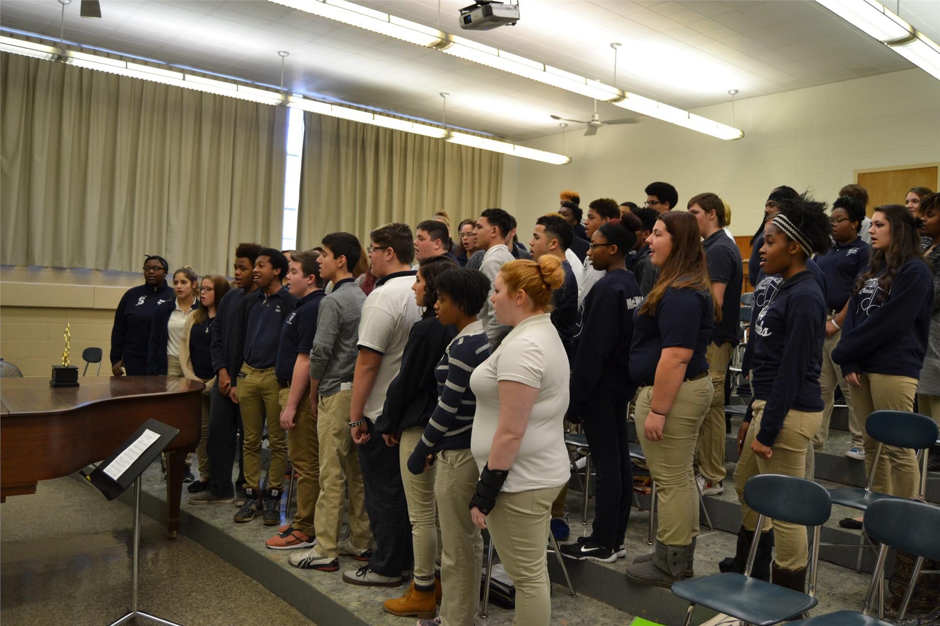 Photo of SHS Choir