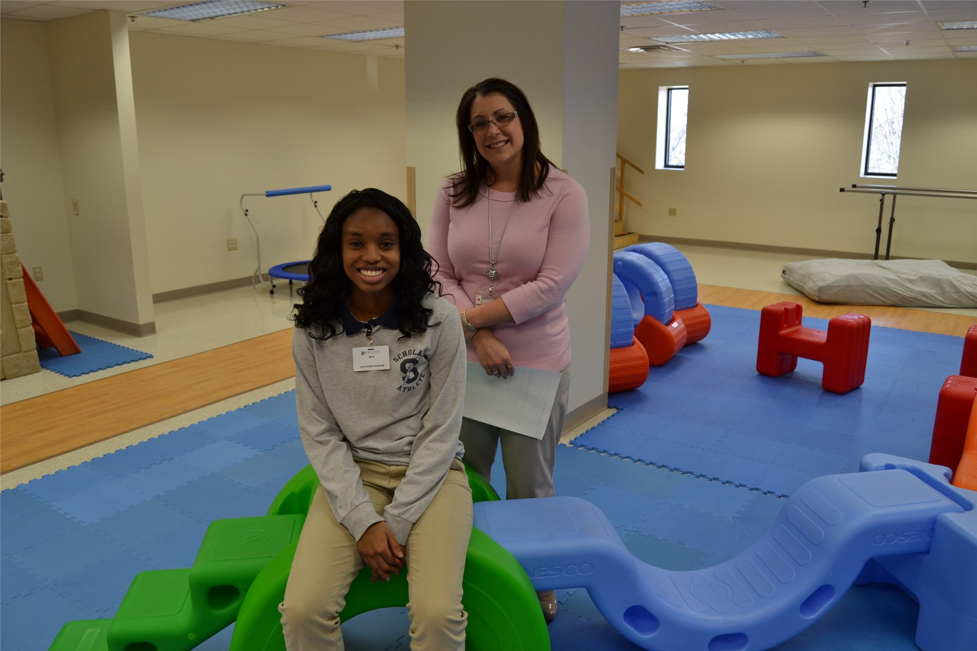 Student Interns with Pediatric Therapy at FRMC - South Campus