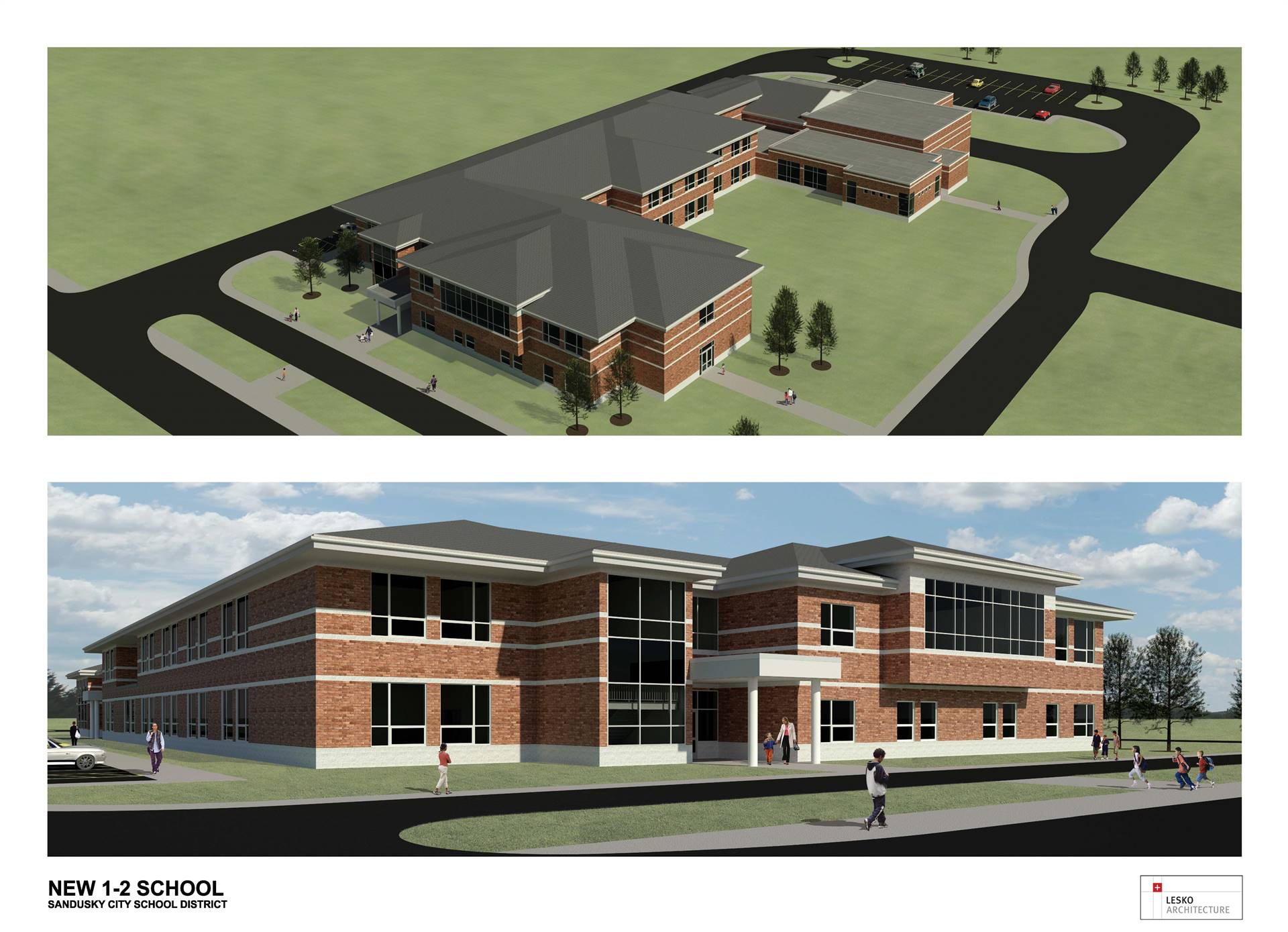 Sandusky Primary School Rendering
