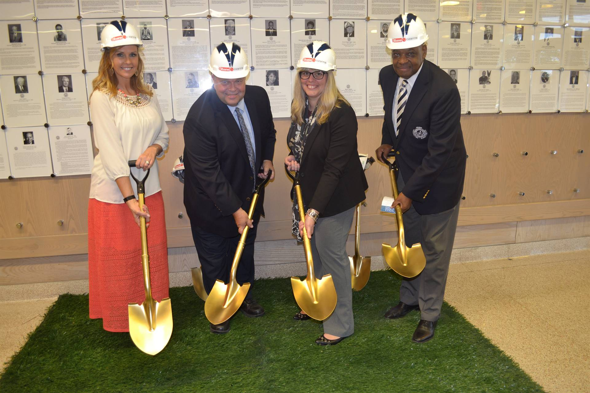 Senior Leadership Team at the Groundbreaking Ceremony