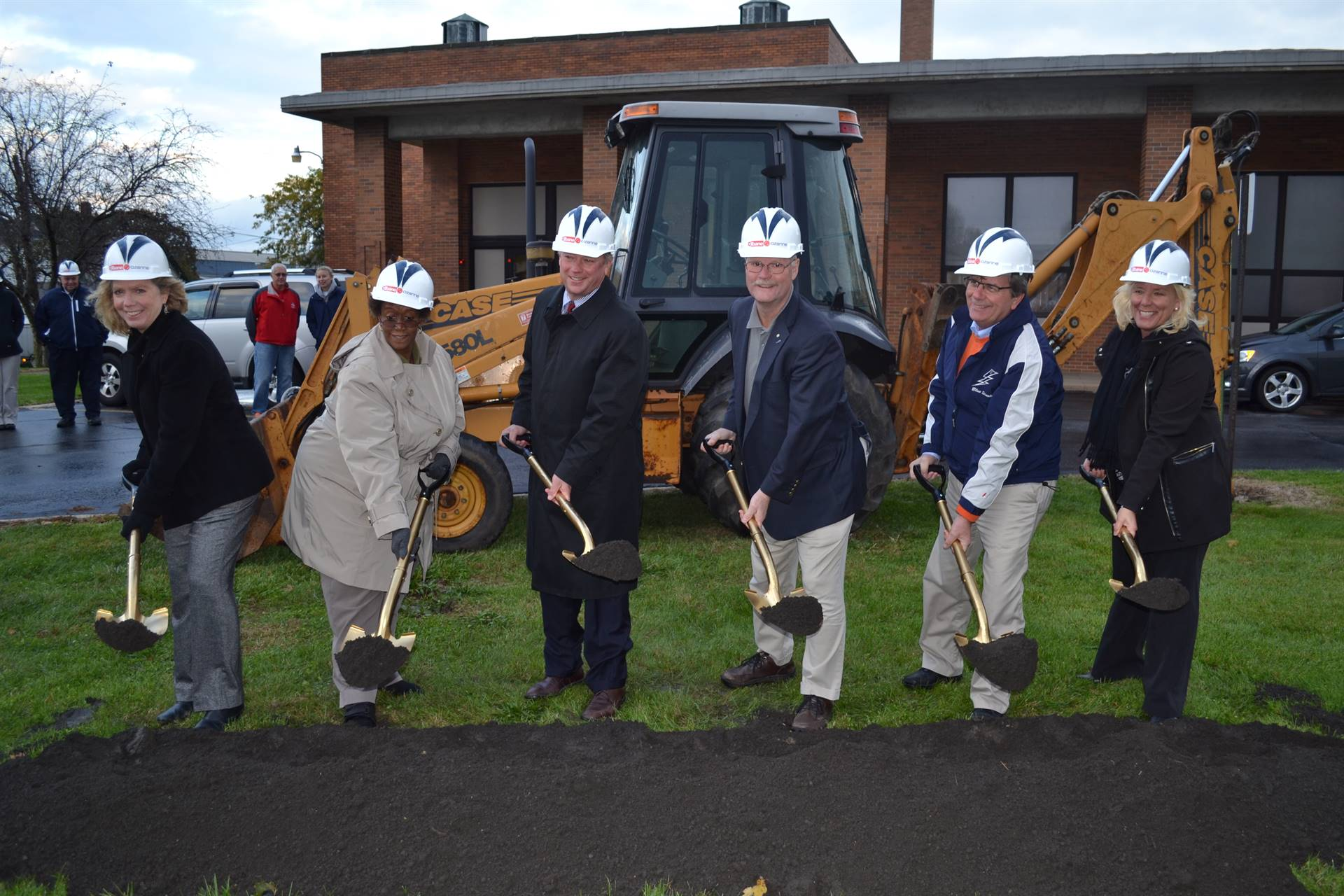 Board of Education at the Ontario Primary Groundbreaking Ceremony