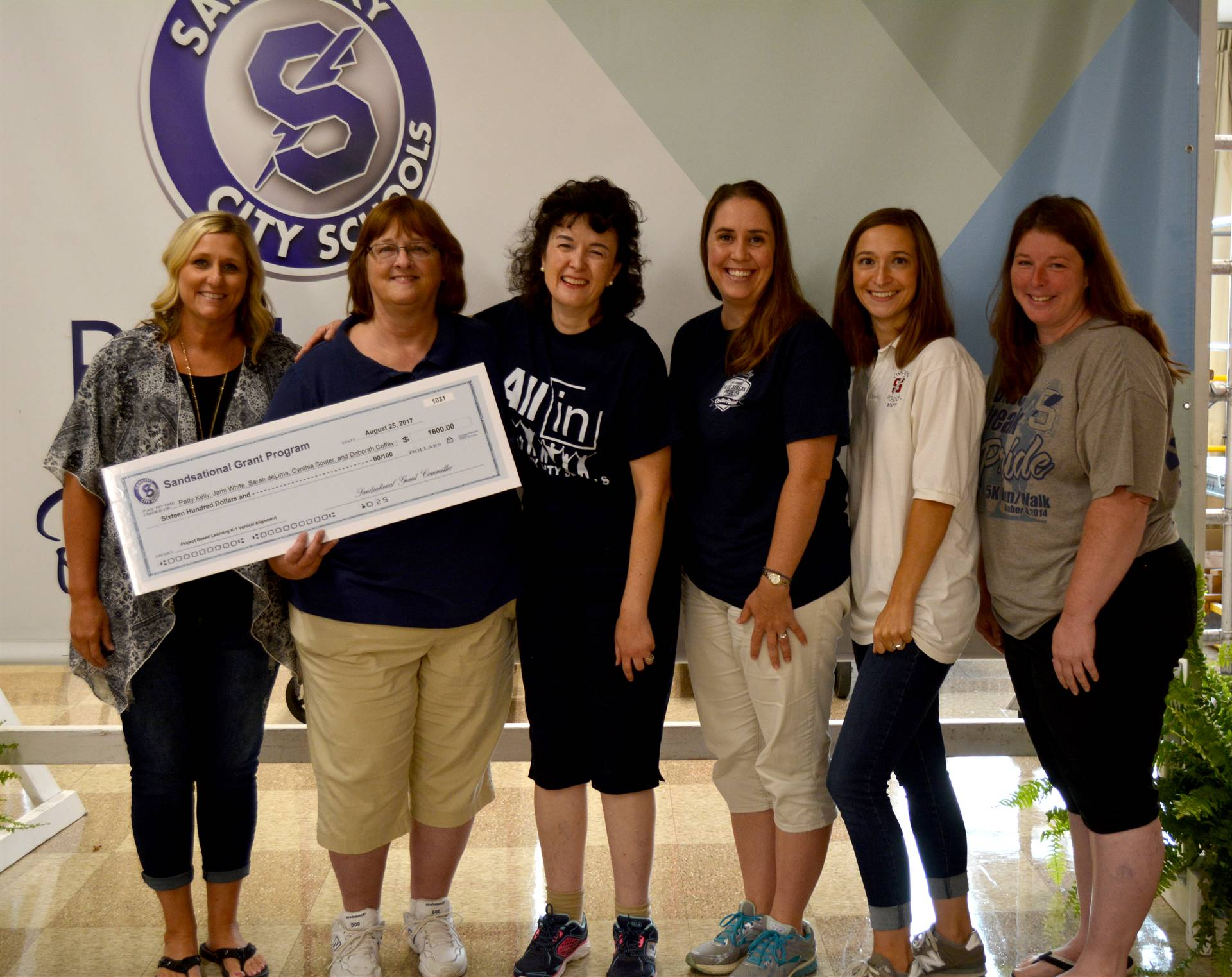 Osborne Teachers, Grant Winners