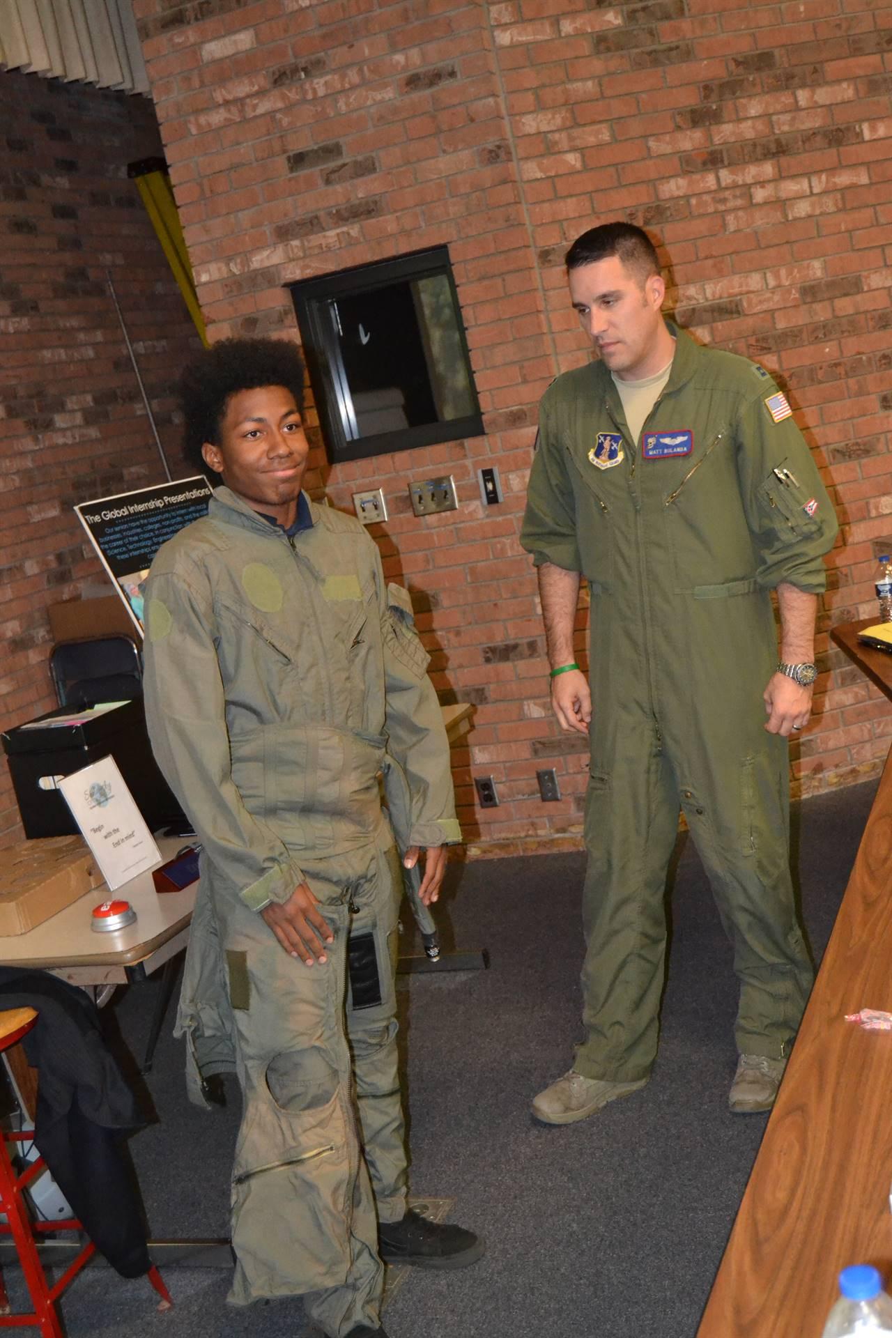Air Force Student Intern