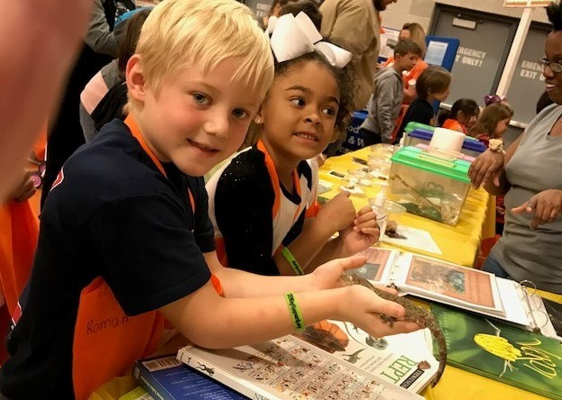 Mrs. Robbins & Mrs. Coffey's Classes attended STEM in the Park at BGSU!