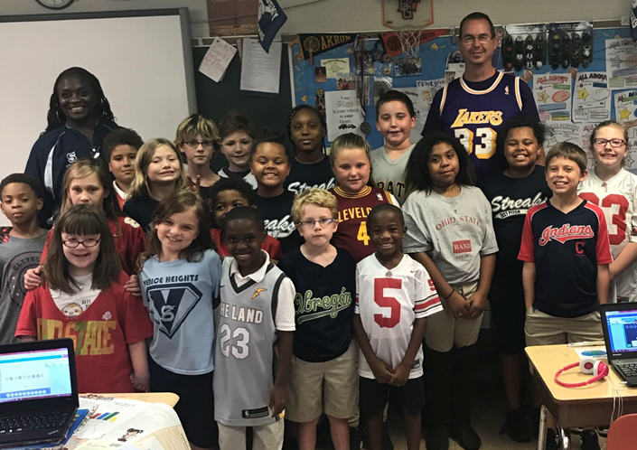 Mr. Graffin's Class - Sports Jersey Day