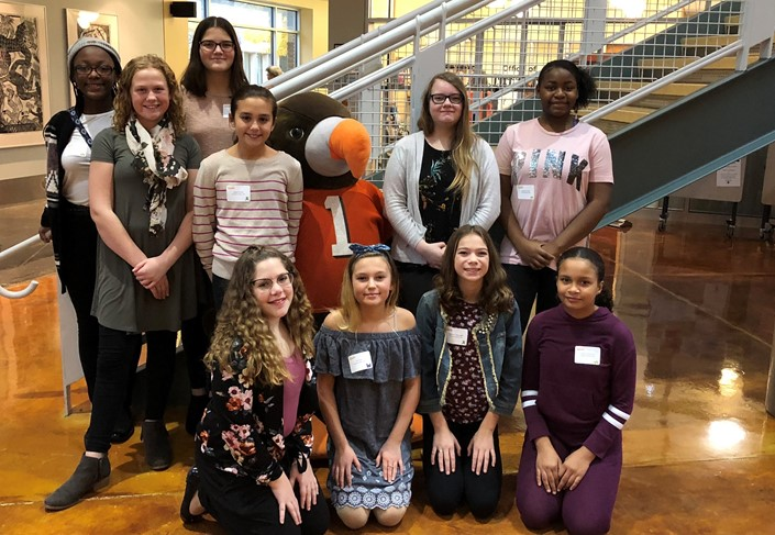 7th & 8th Grade Girls at SMS Participate in Women in STEM at BGSU Firelands