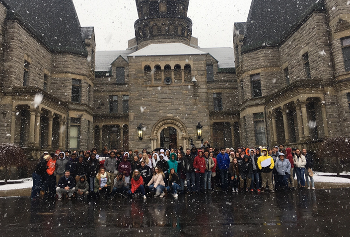 9th Grade Students at Ohio State Reformatory Learning About Preserving Historic Landmarks