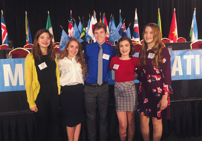 Over 40 SHS Students Attend Model UN in Columbus