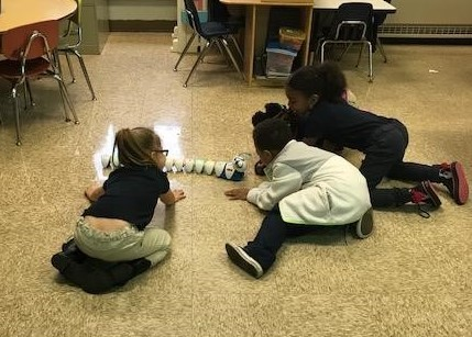 Students at Mills Elementary Learn to Code