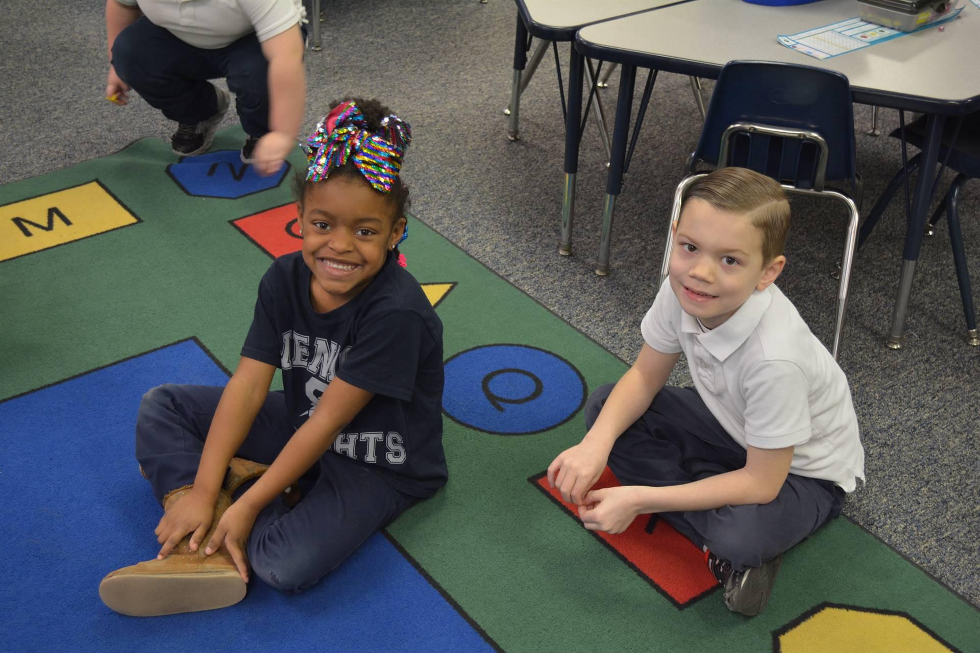 Venice Heights Kindergarten Students