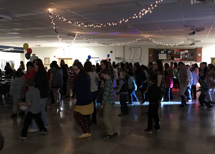 Mother-Son Dance at Sandusky High School