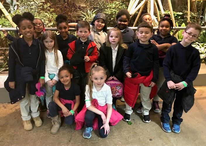 Mrs. Coffey's 1st Grade PBIS Zoo Trip