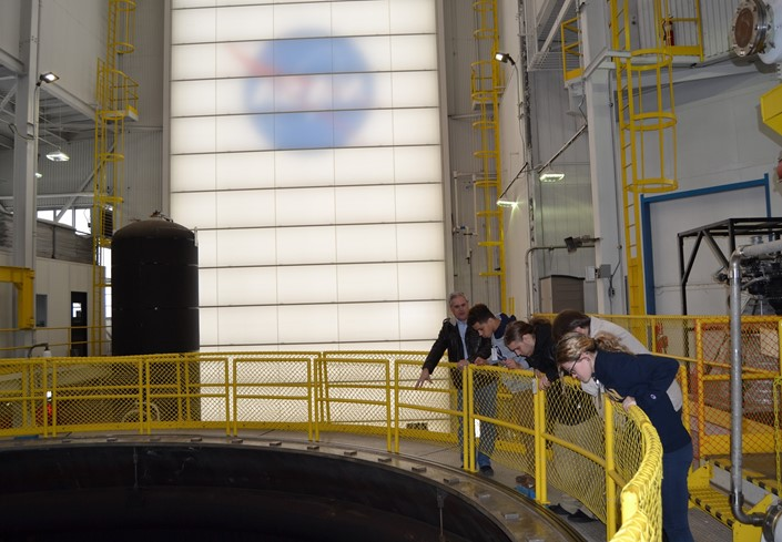 Global Internship Students Tour NASA with the Deputy Director of NASA, David E. Taylor