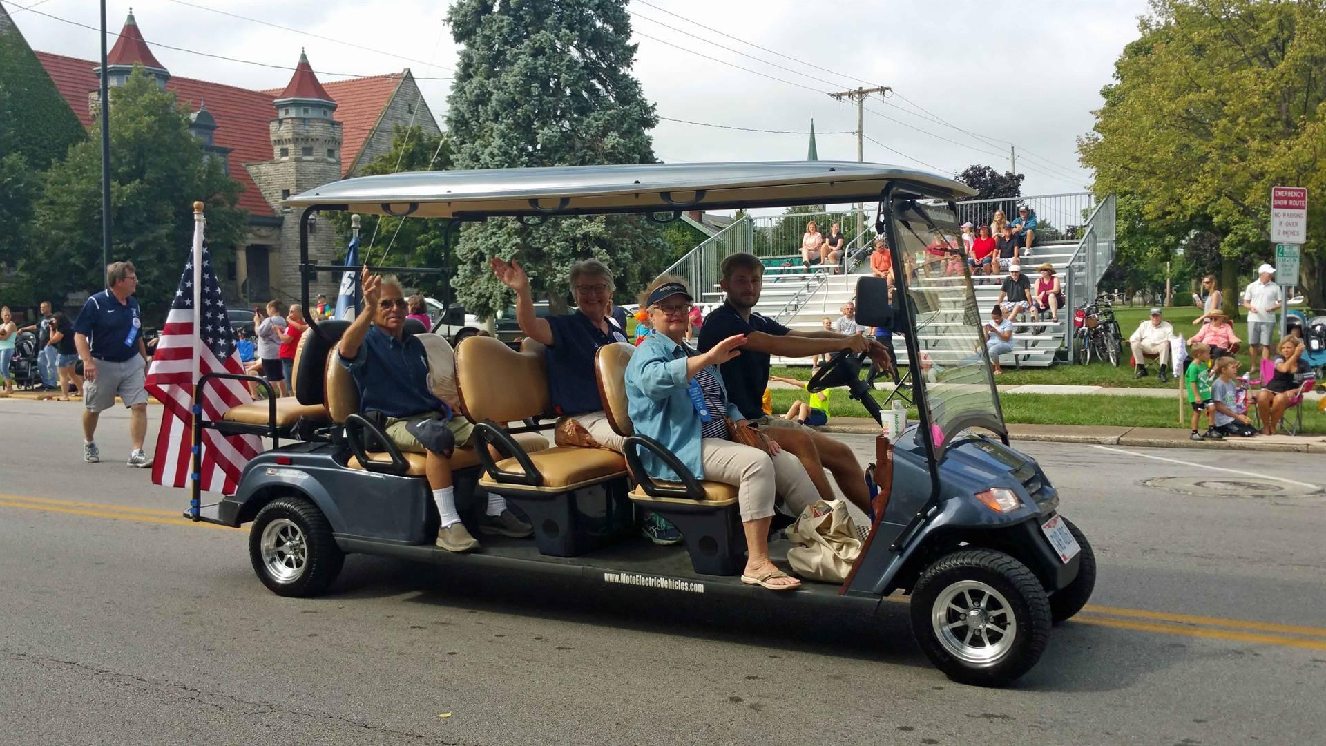 SHS Alumni Association Officers - Bicentennial Parade 2018