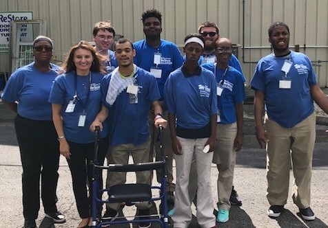 PRIDE Academy Students Volunteer at Habitat Restore