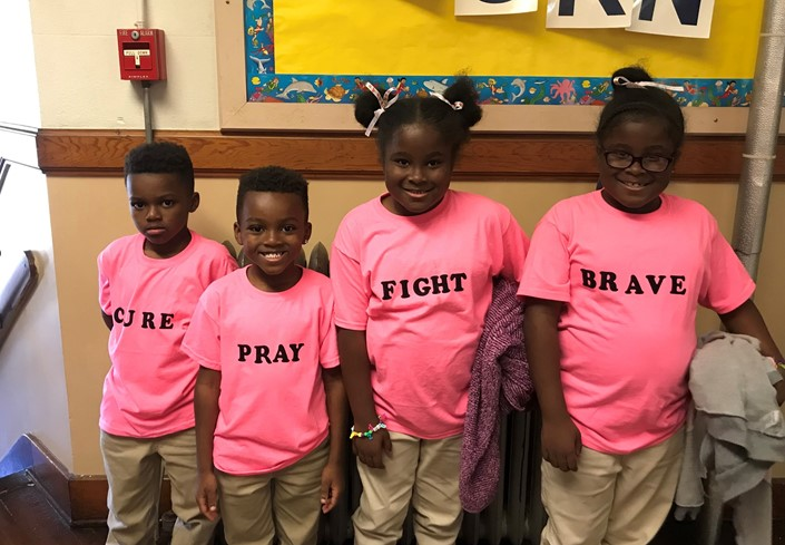 Pink Out at Osborne Elementary