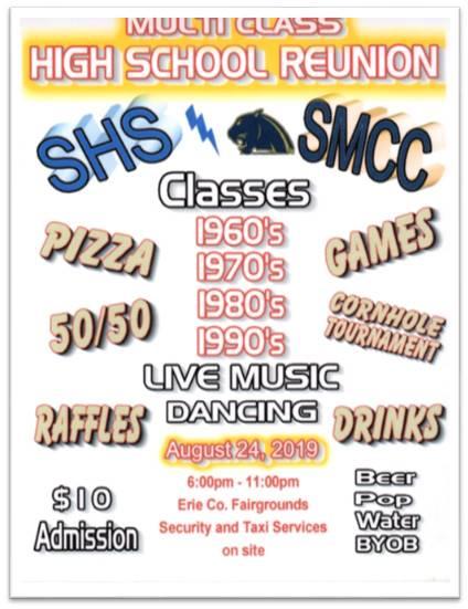 SHS and SMCC Multi Class Reunion