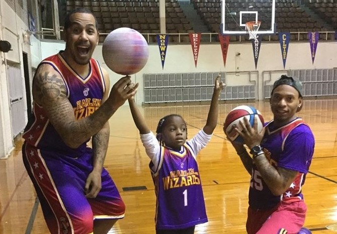Harlem Wizards-Ice & The Artist Perform or RCAAS and Osborne Students