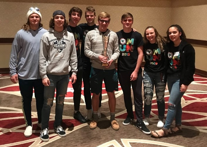 SHS Students Attended the Ohio Model United Nations Conference in Columbus