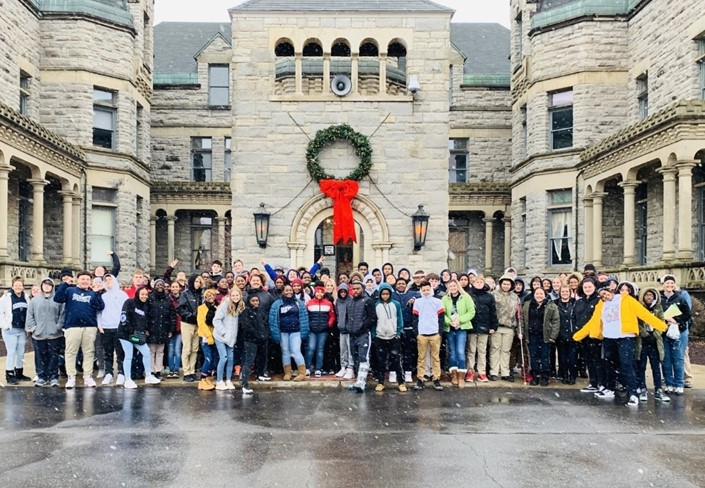 Team Extreme Field Trip to Mansfield Reformatory