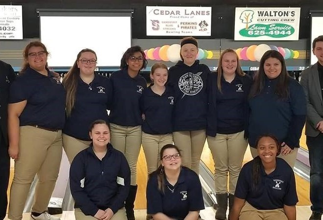 SHS Girls Bowling Team