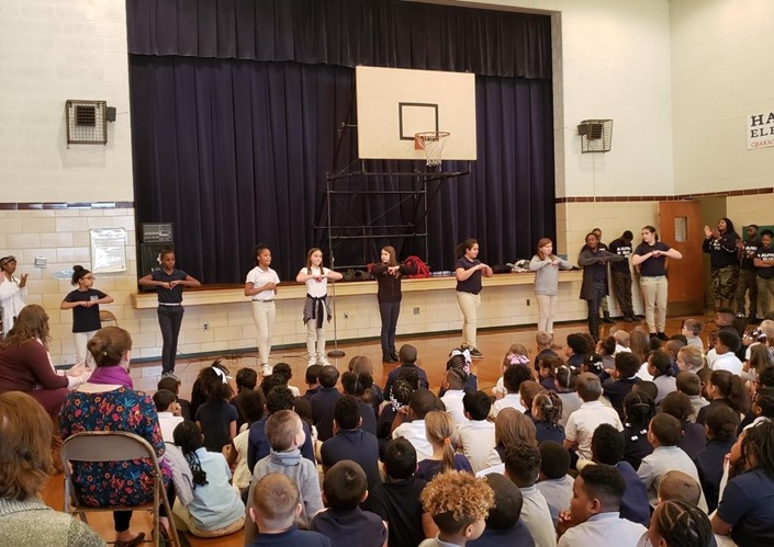 Hancock Elementary Students Learn About Black History Month
