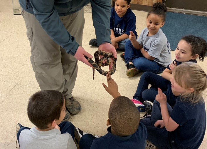 Osborne Students Learn about Nature