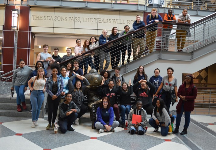 GLVPAA Students Recently Visited OSU to Explore Arts Careers