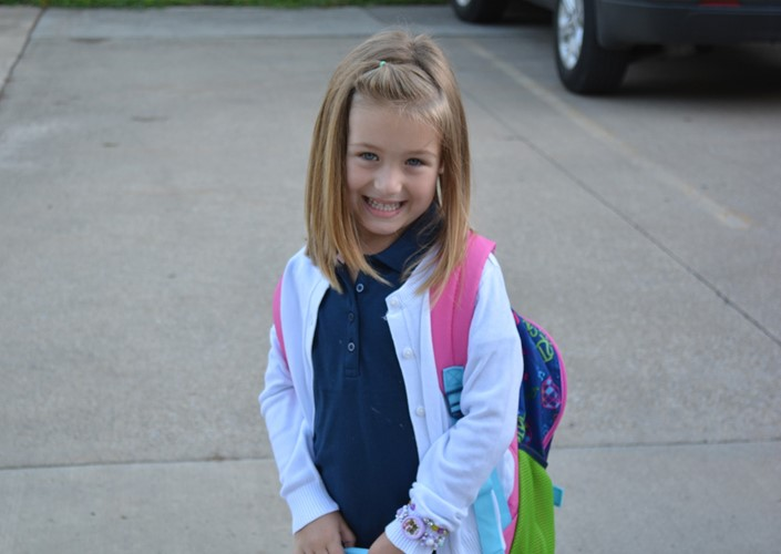 1st Day of School at Hancock