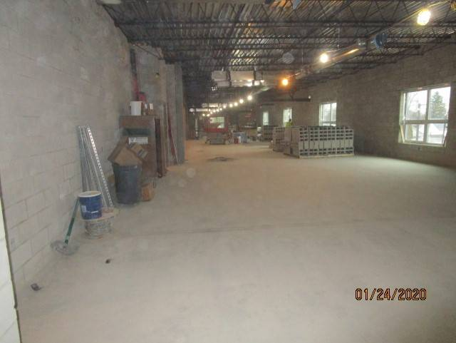 Second Floor Classroom, North Wing, Ready for Divider Walls