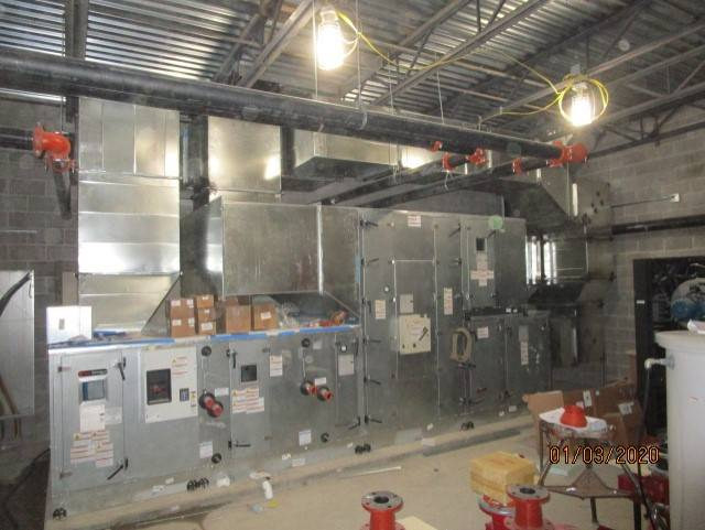 Mechanical Room at the New Intermediate School