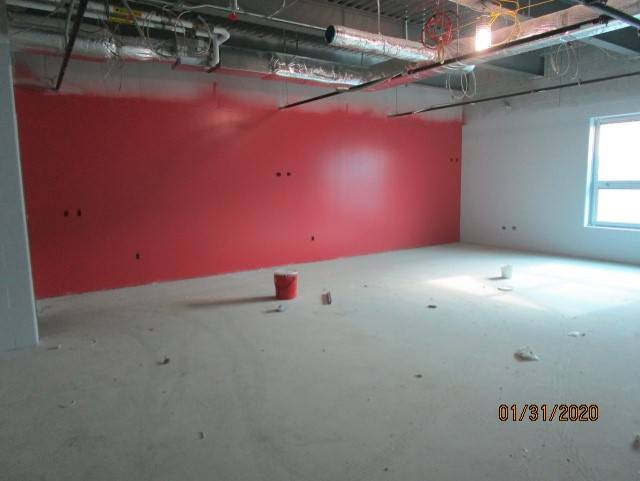 1st Floor West Classrooms Have Primer & First Coat of Paint