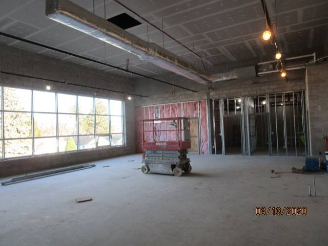 Second Floor Media Center - Hanging Drywall